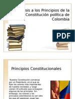 Principios Fundamentales de La Constitucion