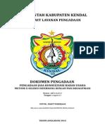 Dokumen Pengadaan Supervisi Pengawasan Rumdin Bupati