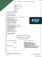 Apple Computer Inc. v. Burst.com, Inc. - Document No. 98