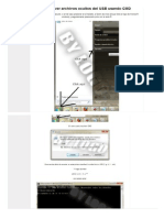 Como Ver Archivos Ocultos de USB Provocado Por Virus - CMD
