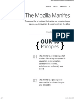 The Mozilla Manifesto