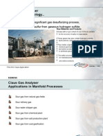 Claus Process(Tail Gas Application)