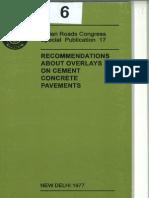 IRC SP 17-1977