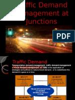 Traffic at urban Road Junctions