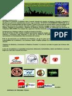 Constitución Plataforma de Asociaciones y Sindicatos Bomberos Forestales, PASBF
