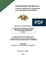 Organizaciones de Base UNT -2