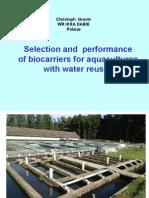 Application of Levapor in Aquaculture
