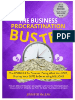 The Business Procrastination Buster Free