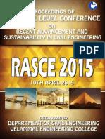 Proceeding of Rasce 2015