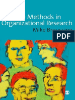 2008_Creative Methods in Organizational Research