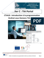 CTIA10 - Introduction à La Programmation Grafcet Sous Siemens TIA PORTAL
