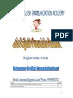 Aneil's English Pronunciation Handbook
