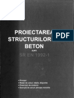 Onet, Kiss - Proiectarea Structurilor Din Beton SR en 1992