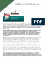 Analisis Del Producto Bitdefender Antivirus Plus dos mil quince