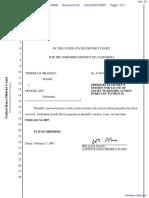 Bradley v. Google, Inc. et al - Document No. 33