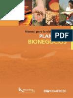 Manual Para La Elaboracion de Planes de Bionegocios
