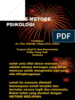 metode-metode psikologi