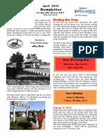 OTHR April 2015 Newsletter