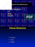 Soft Proj Management and Maintenance