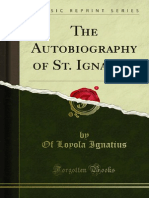 The Autobiography of St Ignatius