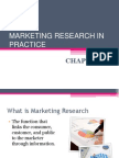 01. Introduction to Marketing Research