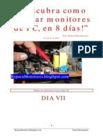 Descubra Como Reparar Monitores de PC, En 8 Dias, DIA VII
