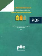 2014 PIIE Guía Metdologica PEI
