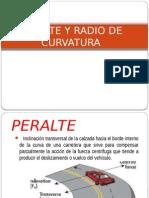 PERALTE Y RADIO DE CURVATURA.pptx