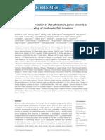 Pan Continental Invasion of Pseudorasbora parva fish