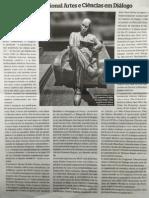 "Artigo do Jornal ""As artes entre as Letras"""