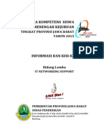 Kisi-kisi LKS Jawa Barat 2015