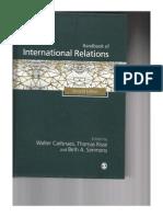 Handbook of International Relations - Walter Carlsnaes & Thomas Risse
