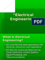 Electrical Engg. Introduction