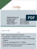 ADRs & GDRs