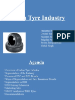 Tyre Industry in India