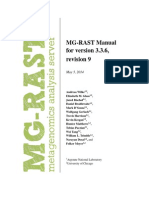 Mg Rast Manual