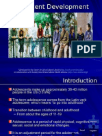 Adolescent Development physical and cognitive and socio devt