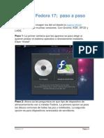 Instalación Fedora 17 en MVirtual