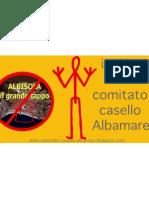 Comitato Casello Albamare Sticker Arancio