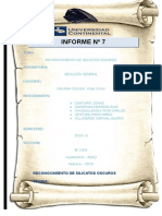 Informe Geoglogia Silicatos Oscuros 1