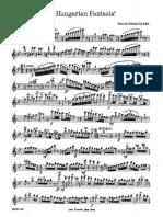 2nd Hungarian Fantasia