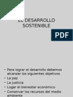 El Desarrollo SostenibleM