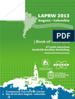 book abstracts Laprw 2013 bogota colombia 4th american pesticide residue workshop