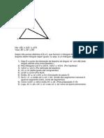Lista 4 - Geometria 1