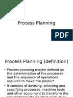 Process Planning, CAPP