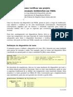 VHDL-Verificacao