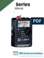 G600 Operational Manual