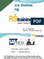 SAP FICO Corporate Training   Sap Fico Online Training