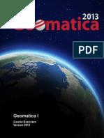 GeomaticaI_CourseGuide_2013