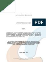 proceso licitacion